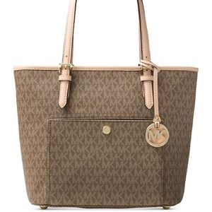 Michael Kors Jet Set Large Top-zip Tote
